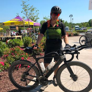 After a grueling race at Gravel Worlds 2019 in the 150 mile distance in Lincoln Nebraska.