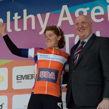 Sprint jersey at 2018 Healthy Aging Tour in Holland