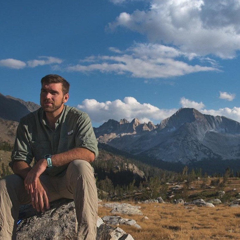 Backpacking in the Sierra-Nevada Mountains