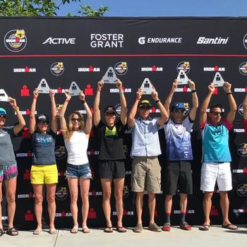 1st place W50-54 St. George IM 70.3 - May 4, 2019